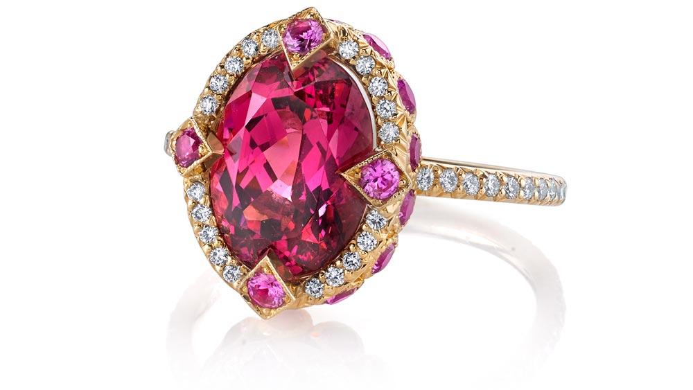 Erica Courtney Pink Diamond Ring